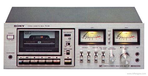 Sony Tck5  Manual  Stereo Cassette Deck  Hifi Engine