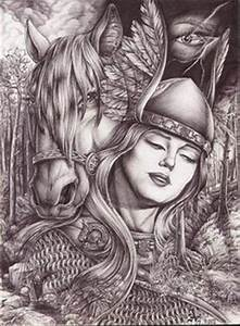 Tatouage Valkyrie Nordique : valkyrie art google search tatoo pinterest mythologie nordique la mythologie et nordique ~ Melissatoandfro.com Idées de Décoration