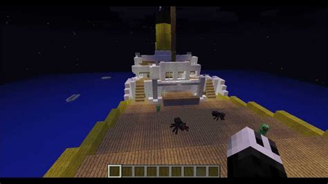 Minecraft Titanic Sinking Map by Minecraft Titanic Sinking
