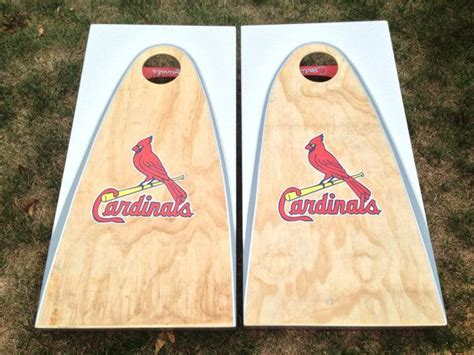 st louis cardinals bean bag boards custom