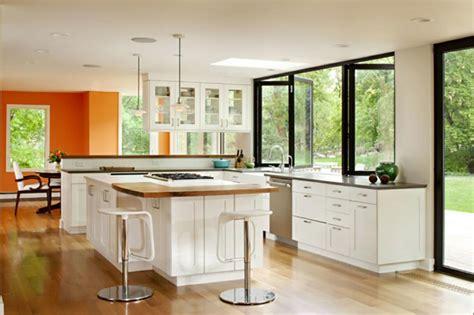 photos cuisine ouverte cuisine d intérieur astucieusement transformée en cuisine