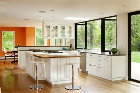 cuisine de jardin en cuisine d intérieur astucieusement transformée en cuisine