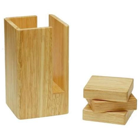 wood furniture risers at the galleria