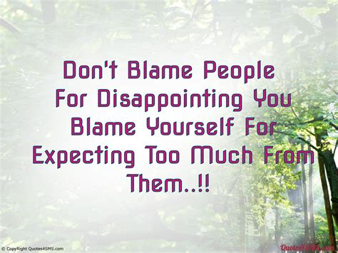 Disappointing Someone You Love Quotes