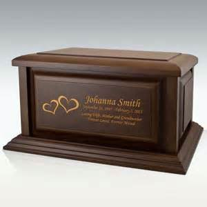 wooden urns for ashes cremation urns for andthe environment pet
