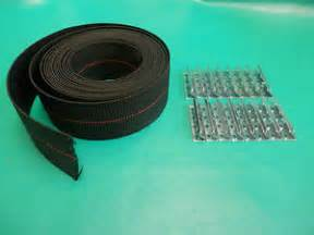 Patio Chair Strapping Replacement by Webbing Repair Kit Clips Fagas Strap Pirelli Kofod Larsen