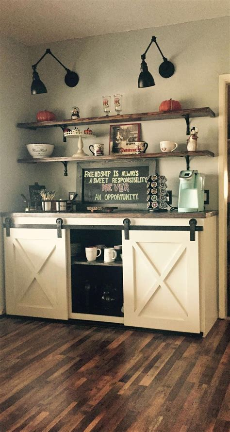 Moms all over the world love their coffee time in the morning. decorating kitchen area #Decoratingkitchen (With images)   Coffee bar home, Coffee bars in ...