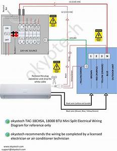 Fujitsu Mini Split Heat Pump Wiring Diagram Sample