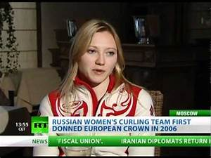 Ice Maidens: Russian curling team is ready to win - YouTube