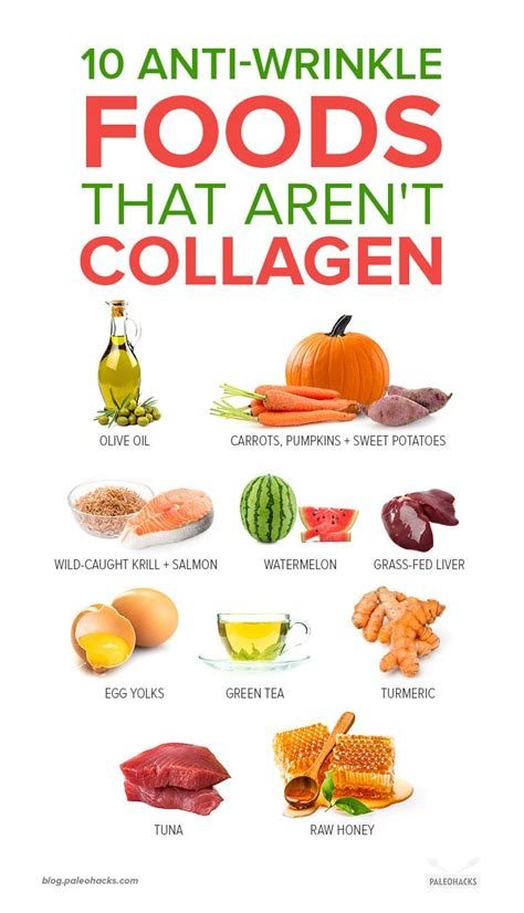 10 Anti-Wrinkle Foods That Aren't Collagen | Healthy aging