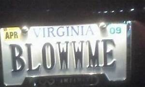 36 Dirty  Funny License Plates
