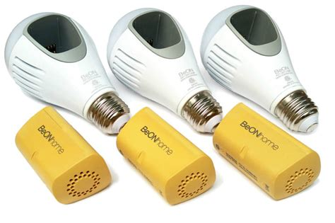 the beon bulb uses battery power during power outages