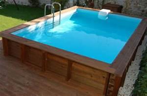 Petite Piscine Hors Sol Bois : les piscines en bois en photo ~ Premium-room.com Idées de Décoration