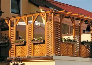 Pergola Elemente Holz : pergola aus holz fur terrasse ~ Sanjose-hotels-ca.com Haus und Dekorationen