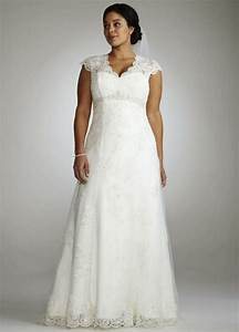 Plus size wedding dresses with sleeves wedding plan ideas for Plus sized wedding dresses
