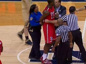 VIDEO: Fight Broke Out In The Notre Dame-St. John's ...