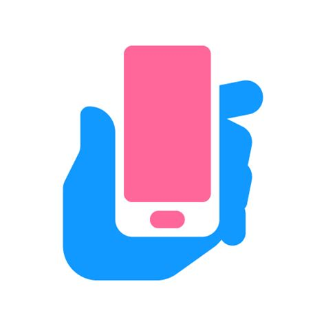 Phone Hand  Logo For Sale