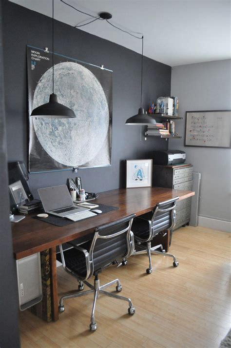 Masculine Office Wall Decor by Best 25 Vintage Home Offices Ideas On Vintage