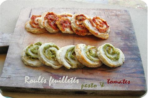 cuisine kitchenaid roulés feuilletés pesto tomates cuisine et dépendances