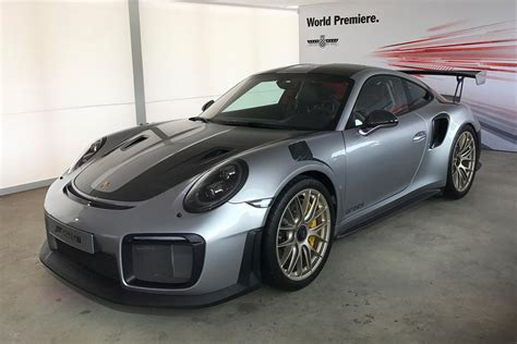 New Porsche 911 Gt2 Rs Makes Full Goodwood Debut Auto