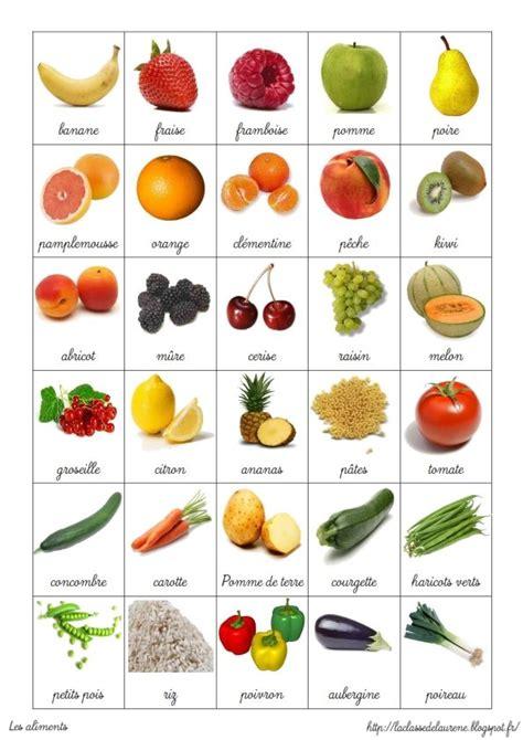 cuisine des legumes vocabulaire des fruits et des légumes activites