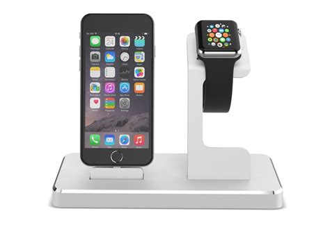 iphone 6 station aluminum metal displaying holder stand desktop