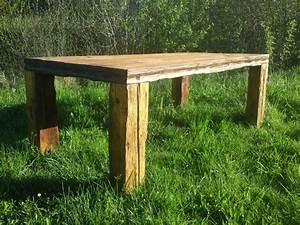 Cooler Tisch Aus Altholz Dies Und Das Alter Holztisch