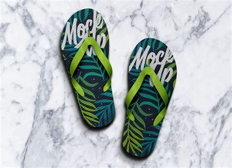 Free mockups and design tools. Free Slippers Flip-Flops Mockup PSD - Good Mockups