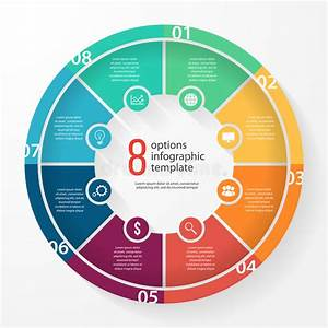 Vector Business Pie Chart Circle Infographic Template