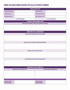 Mid year employee review template bizdoska com page 6 for Mid year review template