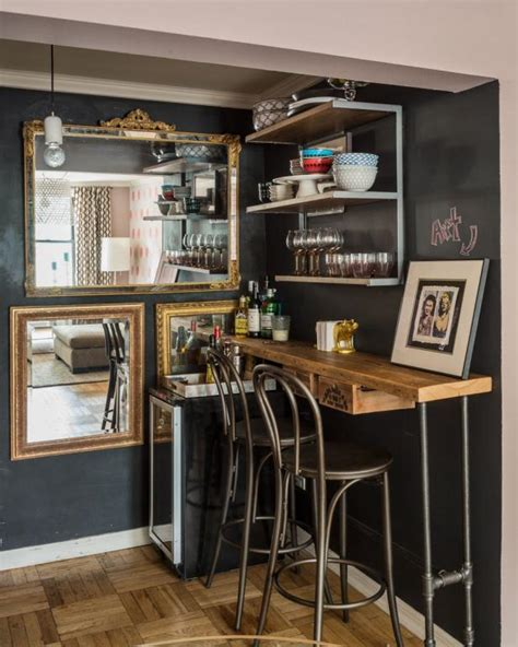 rustic industrial bar  hgtv