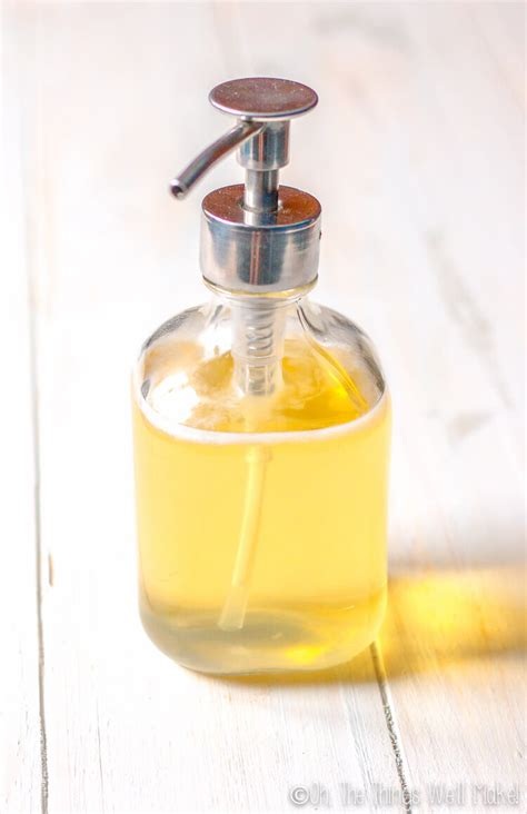 How To Make A Multipurpose Liquid Castile Soap Dr
