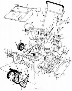 Mtd Sears Craftsman Mdl 247 884210 Parts Diagram For Parts
