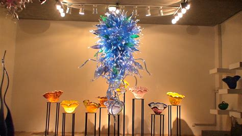 cheap quality blue blown glass chandelier lighting