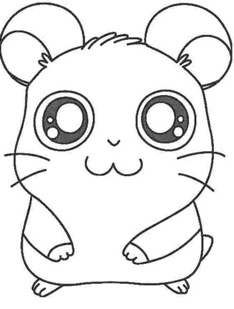 Hamster has thick, silky fur that can be uniformly black, grey, creamy, white, brown, yellow or red. Hamster Coloring Pages Pictures - Whitesbelfast