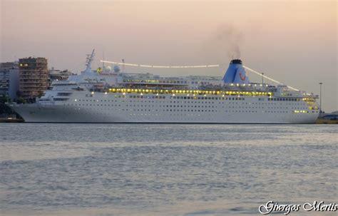 Track thomson dream cruise ship