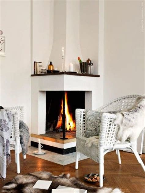 open corner fireplace corner fireplace looks a little square instead of rectangle but i like how modern the lines