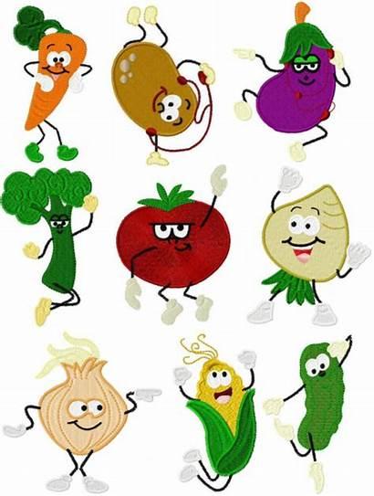 Dancing Vegetables Charts Juliasneedledesigns