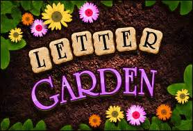 game of the day letter garden