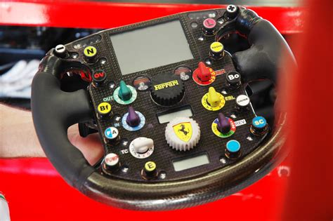 Get to know ferrari's special livery up close! Ferrari F1 Steering Wheel 2004   ed100   Flickr