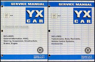 free service manuals online 2008 cadillac xlr auto manual 2005 cadillac xlr repair shop manual original 2 volume set
