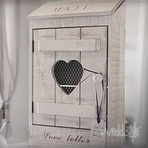 Briefkasten Shabby Chic : hochzeitsgeschenke briefbox weddstyle ~ Michelbontemps.com Haus und Dekorationen
