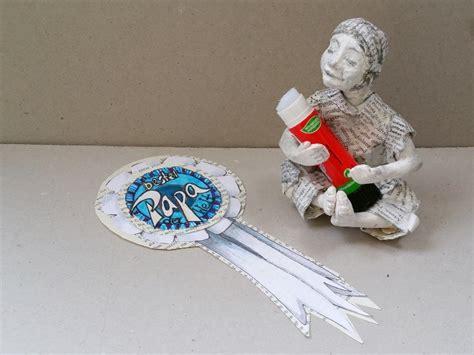 medaille zum muttertag oder vatertag basteln handmade kultur