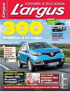 Calculer L Argus D Une Voiture : le trimestriel voitures d 39 occasion de l 39 argus en kiosque et en ligne l 39 argus ~ Gottalentnigeria.com Avis de Voitures