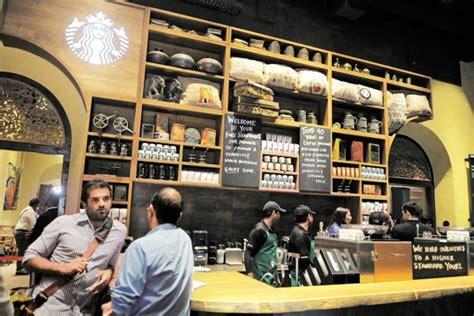 starbucks opens   store  india livemint