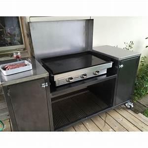 Meuble Pour Plancha : meuble plancha pyr n es concept ~ Melissatoandfro.com Idées de Décoration