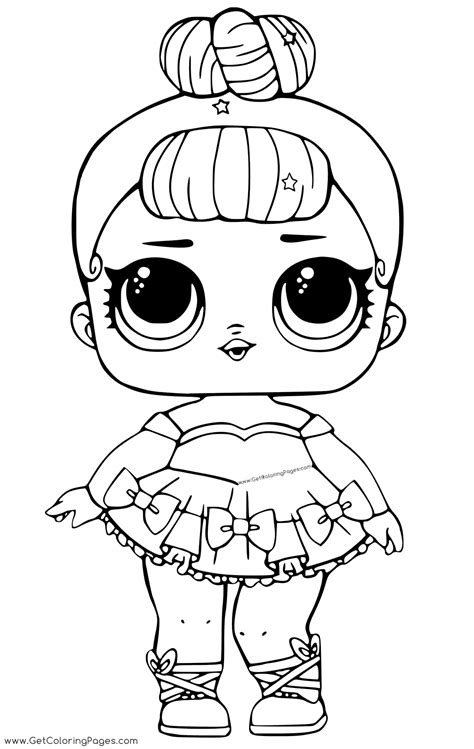 lol doll coloring pages  getcoloringscom