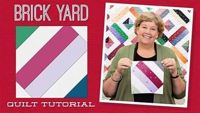 Quilt Missouri Tutorials Jenny Jelly Roll Brick