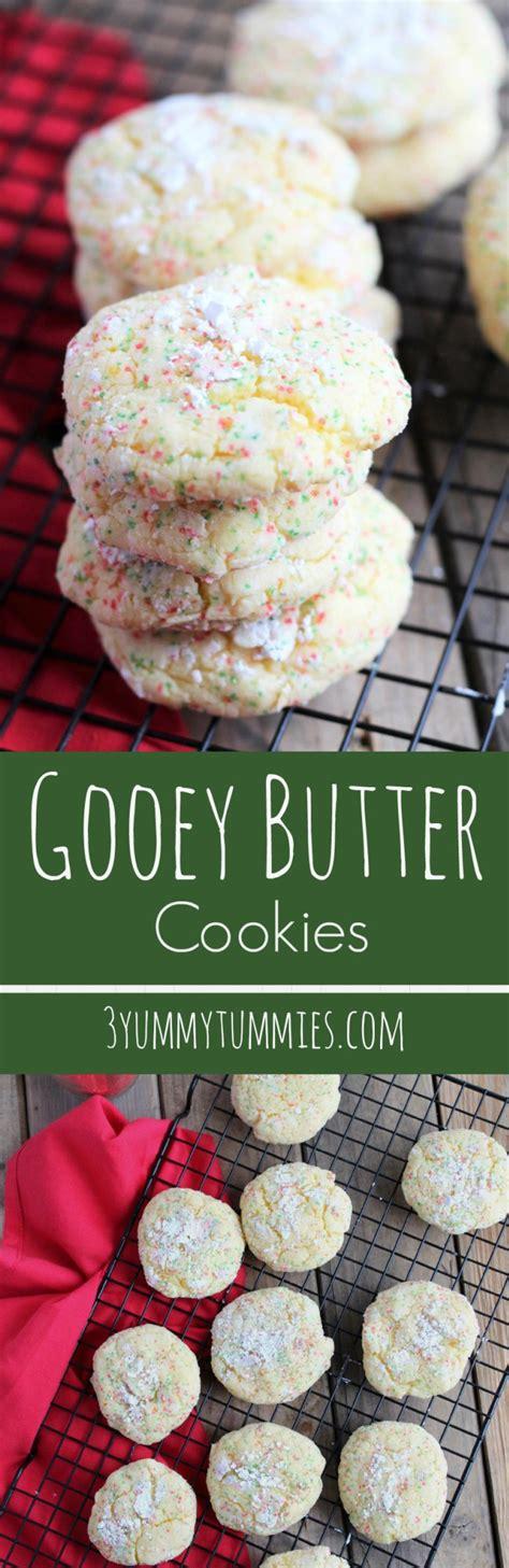 delicious gooey goodness   yellow cake mix