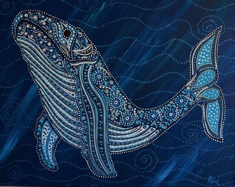 humpback whale ii  australian artist aline cross